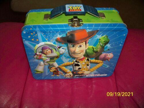 2011 - DISNEY/PIXER - LUNCH BOX - TOY STORY,BUZZ LIGHTYEAR & WOODY REX