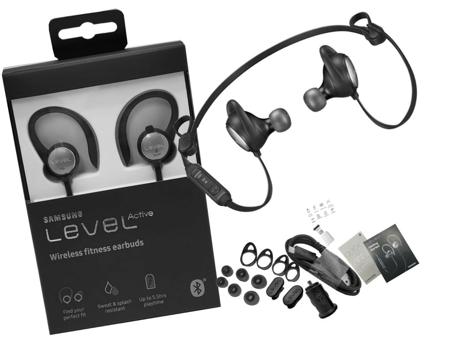 Samsung Level Active Wireless Bluetooth Fitness Earbuds  - E