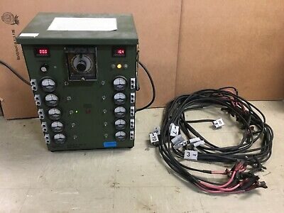 Power Products Military 10 Channel Battery Charger 12v P-10c-12 W Cables Read 4
