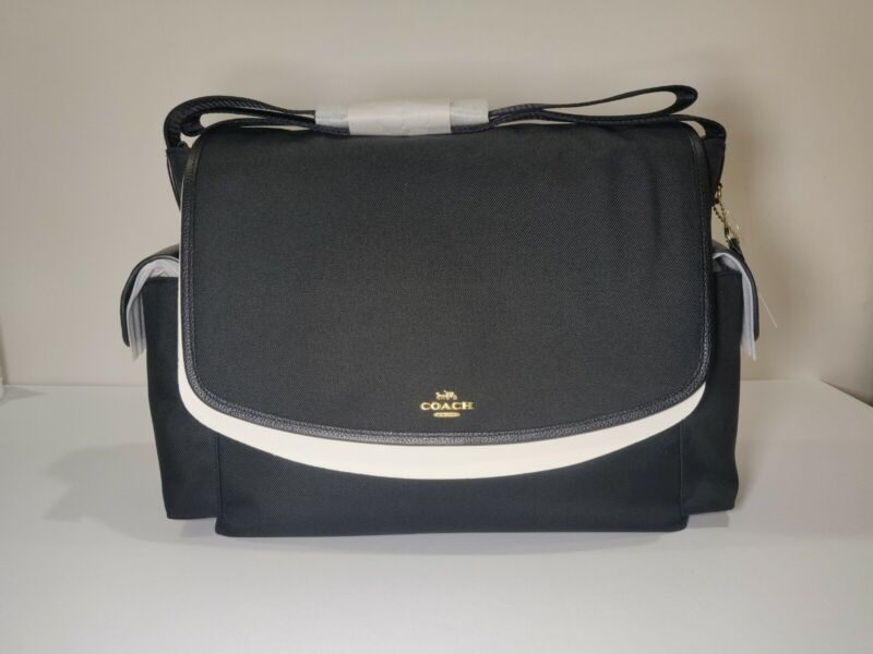 NWT Coach Baby Messenger Bag 99292 Diaper Tote Changing Pad