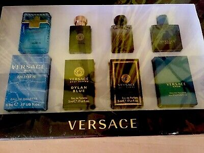 Mens Aftershave Versace Luxury Gift Set 4 x 5ml  New/sealed rrp £60 🎁