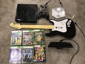 X-Box 360, Kinect and Games bundle