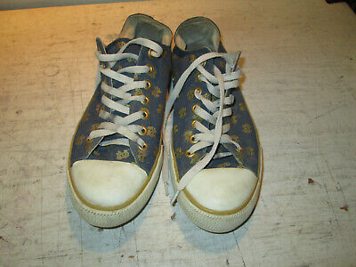 Womens Size 10 Row One Notre Dame Lace Shoes, Good Used Condition