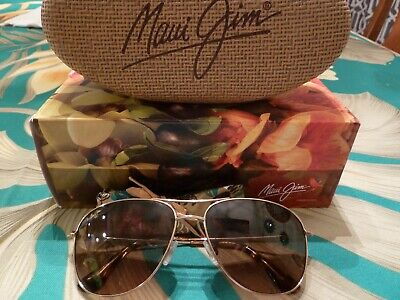 New Maui Jim Cliff House Sunglasses HS247-16 Gold | HCL Bronze Polarized Lens