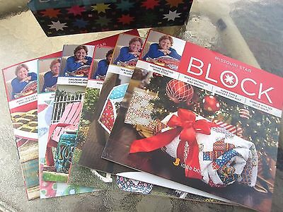 2015 Magazine Box Set   Msqc Block Collectors Set   By Missouri Star Quilt Co