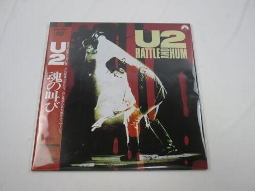 U2 Rattle And Hum with OBI Laser Disk Japan Ver LD