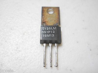 Lm341p12 78m12 12 Volt Positive Voltage Regulator Qty 5 Eam1