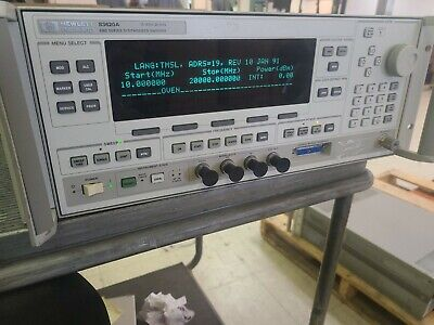 Hp 83620a Synthesized Sweeper 10 Mhz To 20 Ghz