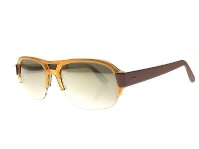 Kirk Originals Jean Gold/Brown Mirrored - Unworn Deadstock Sunglasses