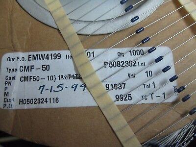 10x Cmf5010r000fheb 10r 1 18w Metal Film Resistors Through Hole 10ohms