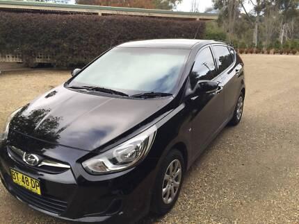 2013 Hyundai Accent Hatchback Queanbeyan Queanbeyan Area Preview