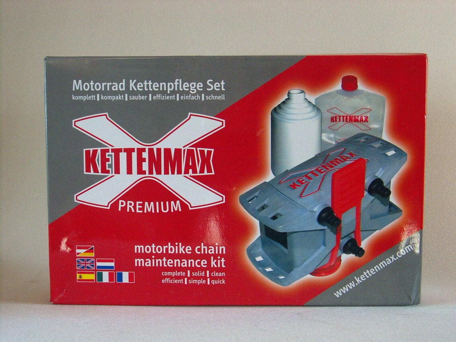 """KETTENMAX Premium Set """"light"""" Kettenpflege für Motorrad Quad ohne Reiniger/Spray"""