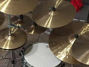 Complete set of Paiste Signature Cymbals for studio or live gigs Brisbane City Brisbane North West Preview