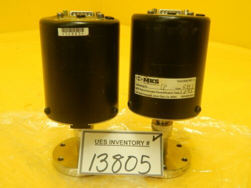 MKS Instruments Type 127 Baratron Pressure Transducer Lot of 2 Used Working