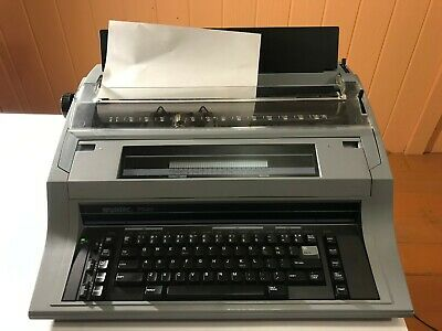Swintec Model 7040 Electronic Typewriter Wide Format Correctable Tested Working