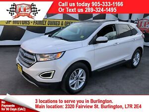 2017 Ford Edge SEL, Navigation, Leather, AWD, 43, 000km