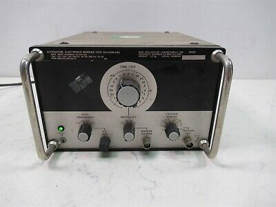 Ballantine Laboratories Generator Electronic Marker Type Anusm-441 Lab Unit