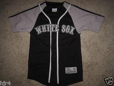 Chicago Weißes Sox MLB Schwarz Jersey Jugendliche GRÖSSE S ()