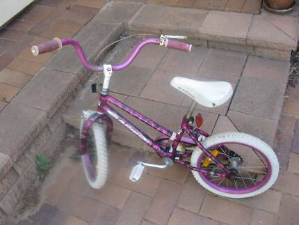 Apollo Radius Bicycle, 16 inch, pink and purple St Agnes Tea Tree Gully Area Preview