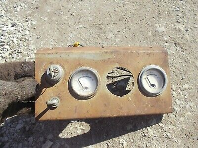 Allis Chalmers Tractor Ac Original Dash Panel W Gauges