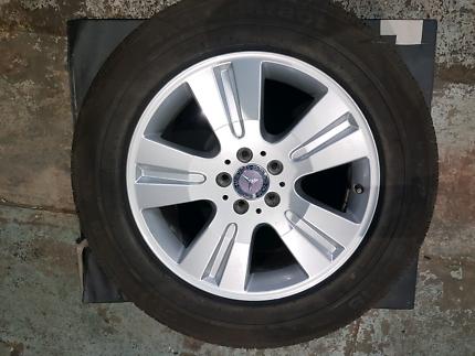 Mercedes Benz ML wheels