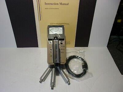 Ludlum Model 12 Survey Meter With Three 133-4 Gm Probes