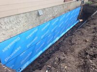 Foundation and weeping tile repairs