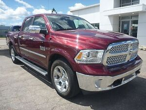 2016 RAM 1500 Laramie eco diesel, bluetooth, heated seats