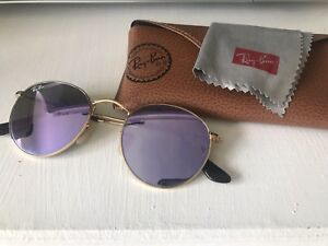 Ray Ban sunglasses with case and cleaning cloth