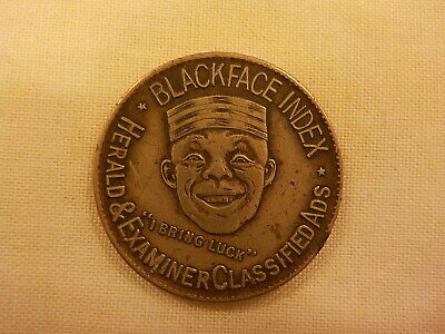 Blackface Index memento coin
