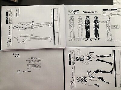 Peter Chung Aeon Flux Production Art Ep The Purge Character Background Settei