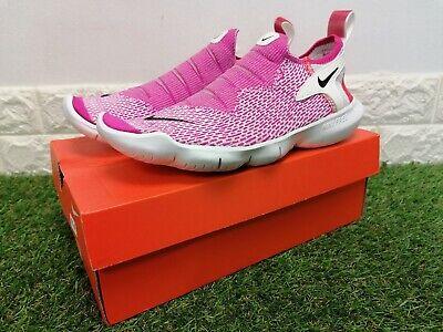 Nike Free RN Flyknit 3.0 2020 UK 6 Womens Running Shoes, Pink