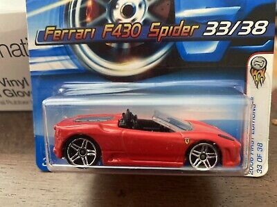 HOT WHEELS VHTF FERRARI F430 SPIDER