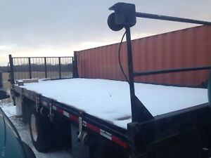 20 foot flatbed with lift gate for sale