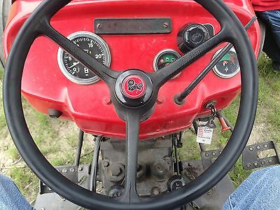 Steering Wheel Center Cap Massey Ferguson Mf231s Mf240 Mf250 Mf253 - 49.30mm
