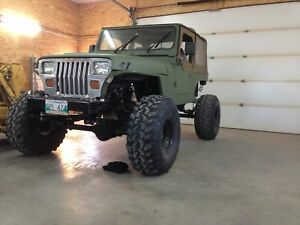 93 Jeep Wrangler YJ Custom