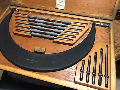Scherr Tumico 12 - 18 Outside Micrometer Caliper Standards Mandrels Caps