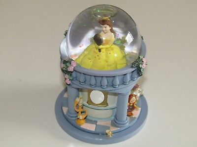 Disney Stores The Beauty and the Beast Belle SNOWGLOBE snow globe boxed