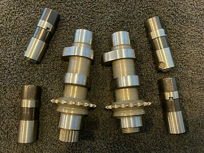 SCREAMIN EAGLE CVO 255 CAMSHAFTS CAMS HARLEY TWIN CAM 96 25638-07 & LIFTERS