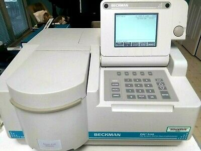 Beckman Du 530 Uvvis Spectrophotometer V1.04 Single Cellcuvette Passes Tests