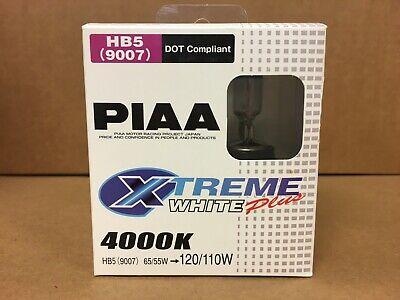 (CLOSEOUT) PIAA 9007 XTREME WHITE PLUS 4000K HALOGEN BULBS