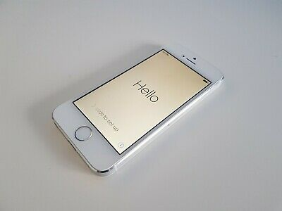 Apple iPhone 5S - 16GB – Silver (Unlocked) A1457 - USED #021