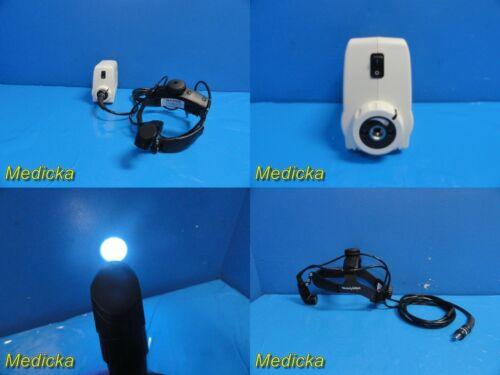 Welch Allyn 49501 Solarc Light Source W/ 49540 Headlight ~ 21635