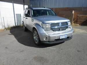 2007 Dodge Nitro 4X4 Auto 2.8L Turbo Diesel Wagon Wangara Wanneroo Area Preview