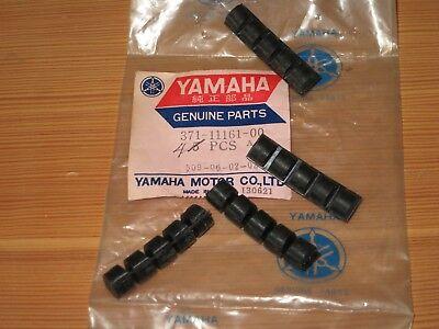 YAMAHA TX500 XS500 CYLINDER HEAD ABSORBER 1 / DAMPER SET OF 4 NEW OEM 371-11161