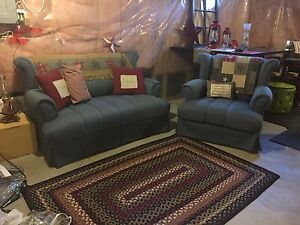 Couch and chair. For cottage. Must Go!