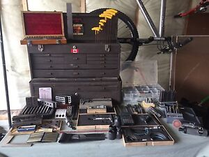 Machinist tools and tool box