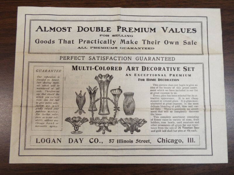 Logan Day Co. Catalog Household and Misc- Chicago, IL for selling