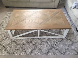 Living Room coffee table and side table from Ashley furniture