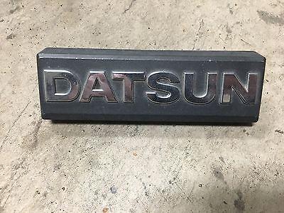 Datsun Nissan Sentra 210 B310 Grill Emblem  Sunny 81 85 1981 1982 1983 1984 1985